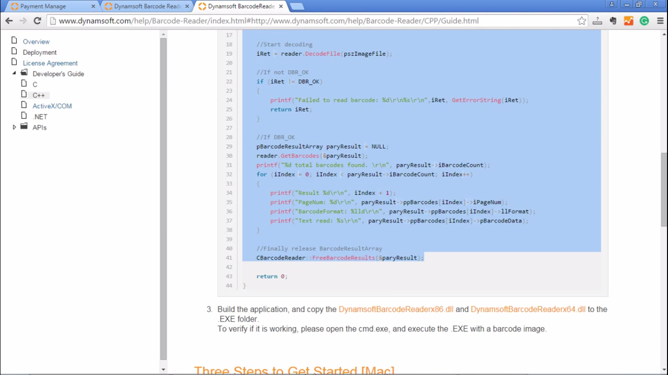 Usb Barcode Reader