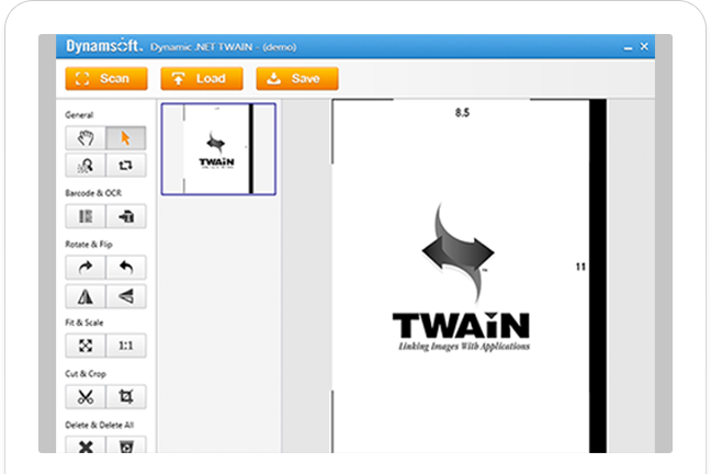 Try WPF TWAIN Scanning Samples