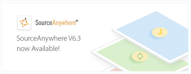 SourceAnywhwere 6.3 released