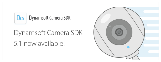 Dynamsoft Camera SDK 5.1 released