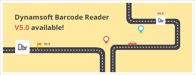 Dynamsoft Barcode Reader 5.0 released