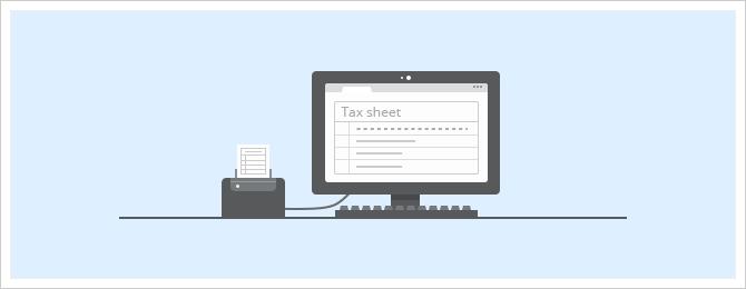 online document scan