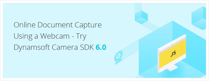 online document scan using a webcam