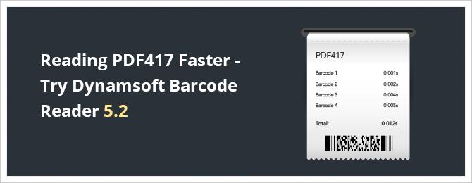 Dynamsoft Barcode Reader 5.2 released