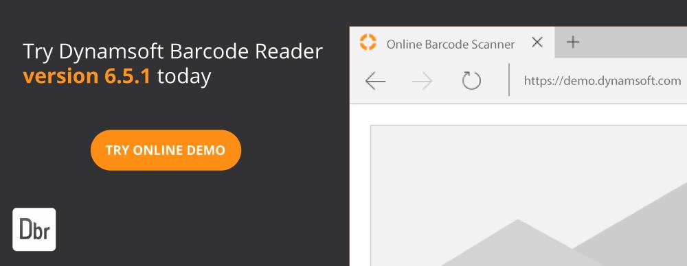 Dynamsoft Barcode Reader demo