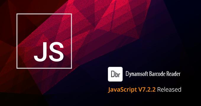 barcode scanning javascript sdk v7.2.2