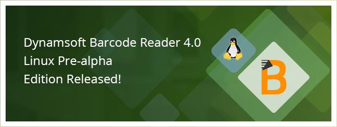 Dynamsoft Barcode Reader 4.0 Linux Pre-alpha Edition