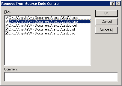 Remove VS 6.0 files from source control