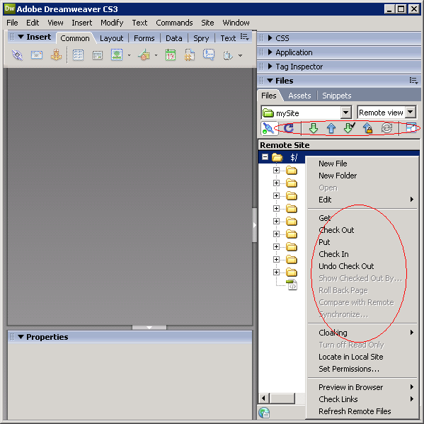 Use SourceSafe in Dreamweaver