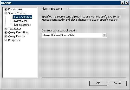 SQL Server 2005 Options