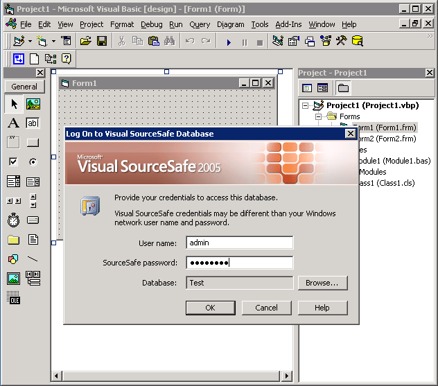 Using Visual SourceSafe - Integrating VSS with Visual Basic 6 0