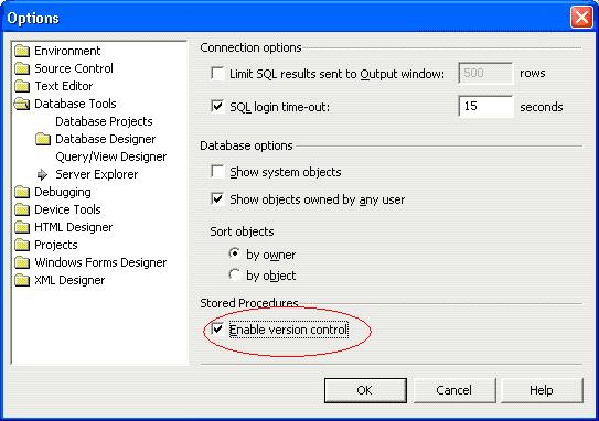 Enable Version Control