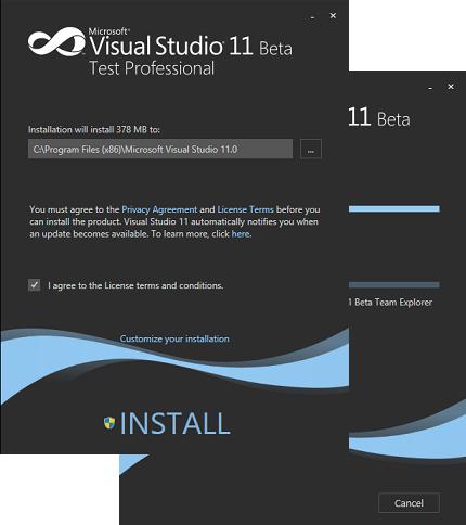 VS 11 Beta install