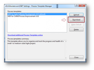 TFS Process Template Manager