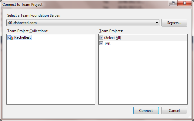 Connecting To Team Foundation Server In Visual Studio For Mac