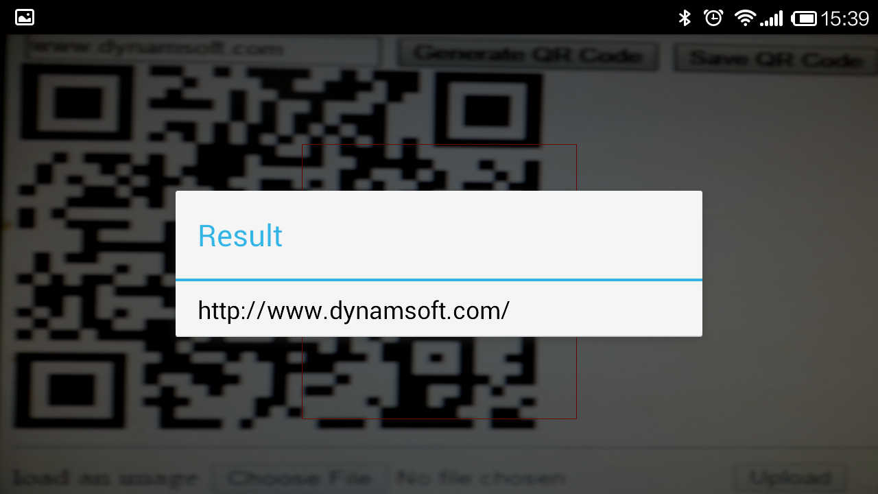 How to implement a simple barcode scan application on Android
