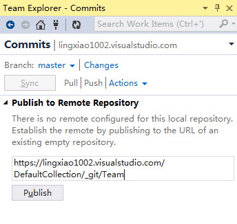 publish to remote repo