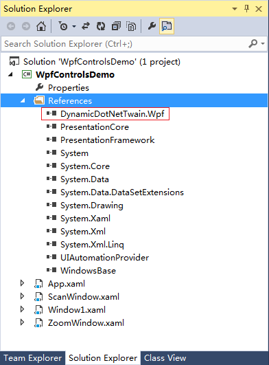 NET TWAIN With WPF