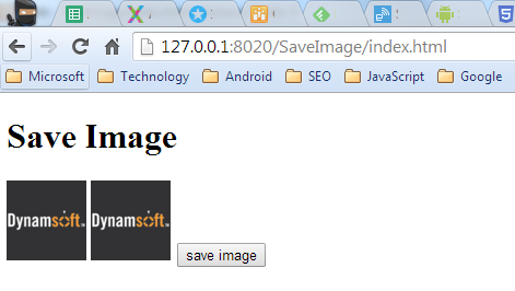 How to Use JavaScript to Save Canvas Data in Chrome