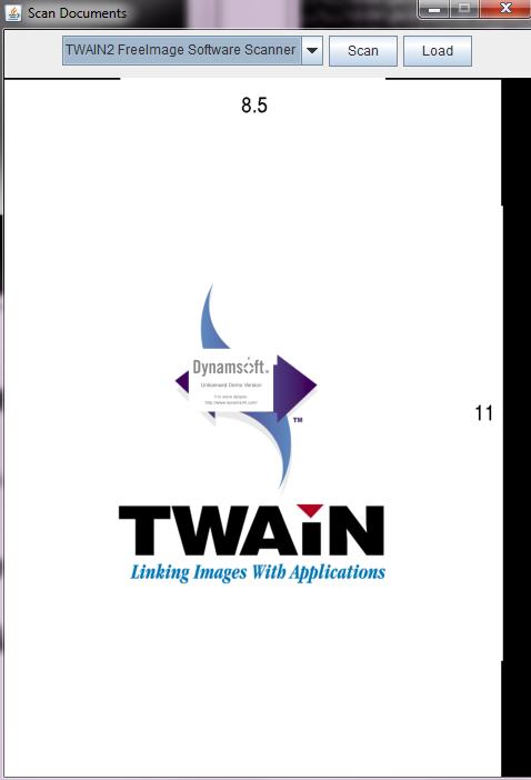 Java TWAIN