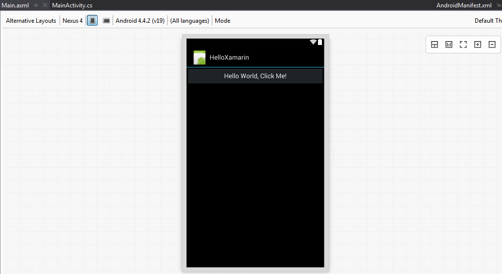 Creating Android Apps with Xamarin in Visual Studio