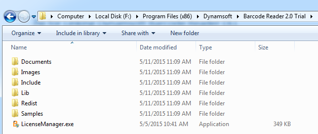 dbr folder