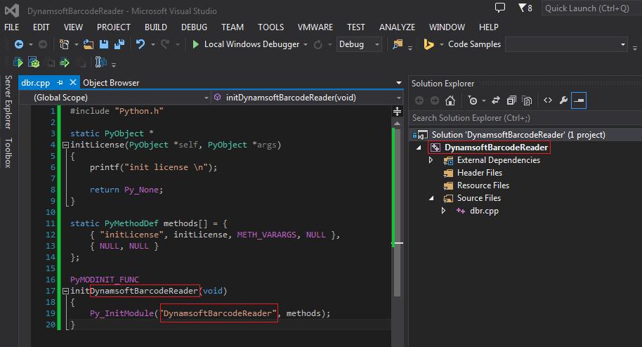 Python native portal