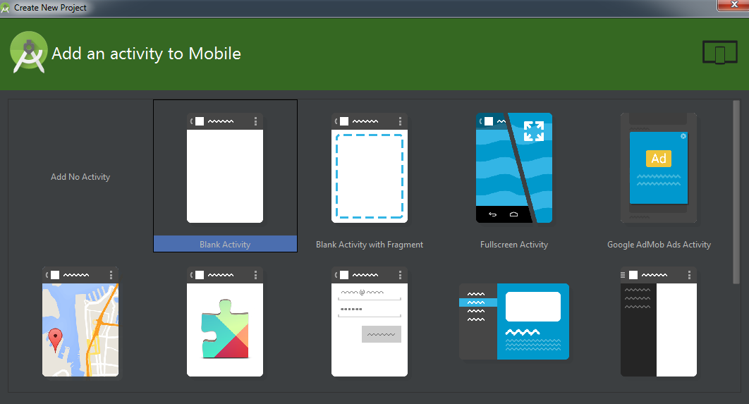 how to send android studio project