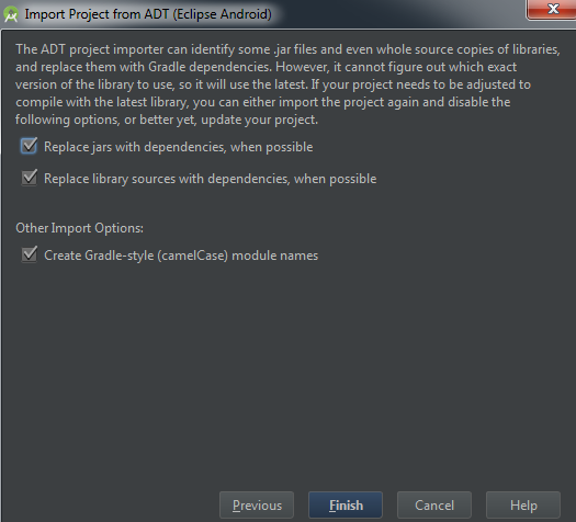 Time to Migrate Android Projects to Android Studio