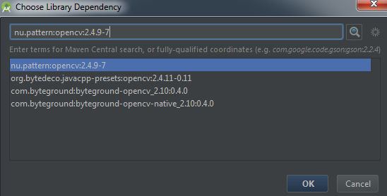 Add java library to Android Studio project with maven ...