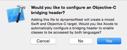 objective-c bridging header