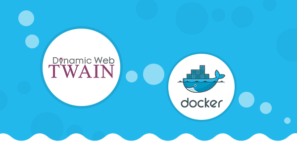 docker dynamic web twain