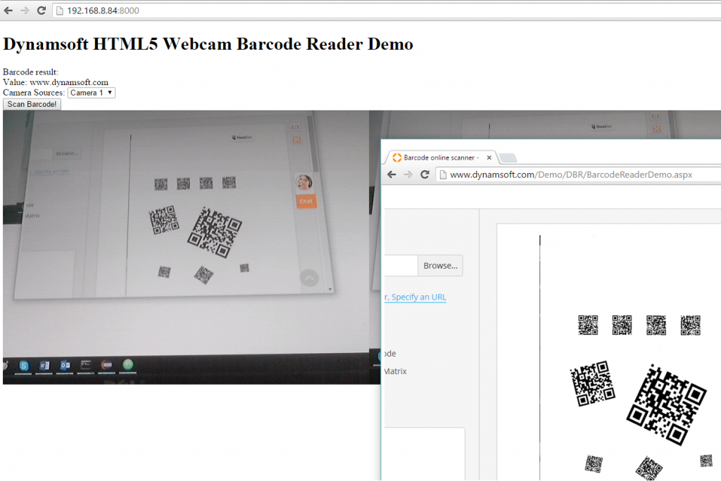 desktop barcode reader