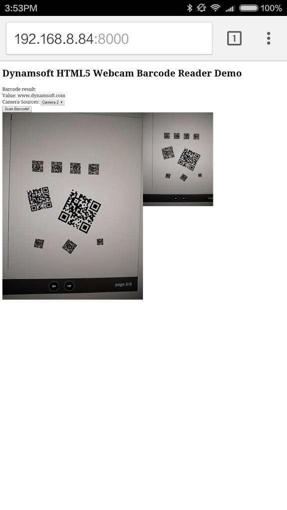 mobile barcode reader