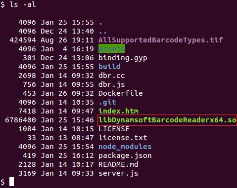 copy so to project folder