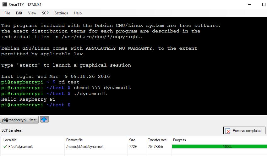 smartty execute program