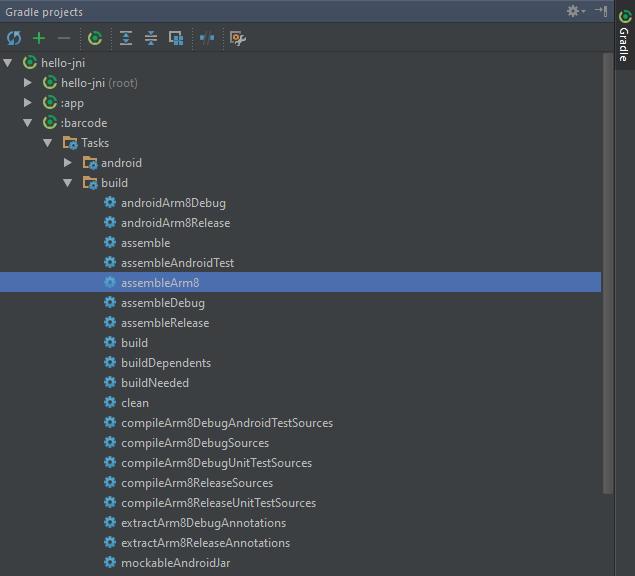 Build release & debug with Gradle