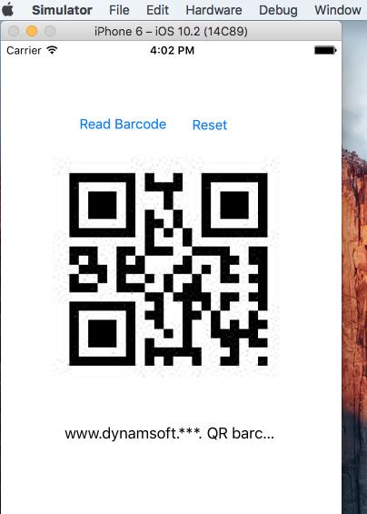 xamarin ios barcode reader