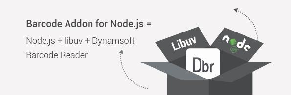 node.js libuv barcode