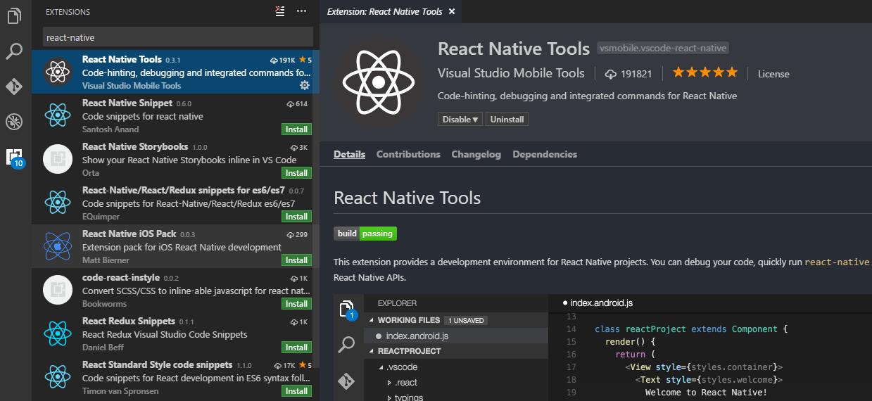 react native editor