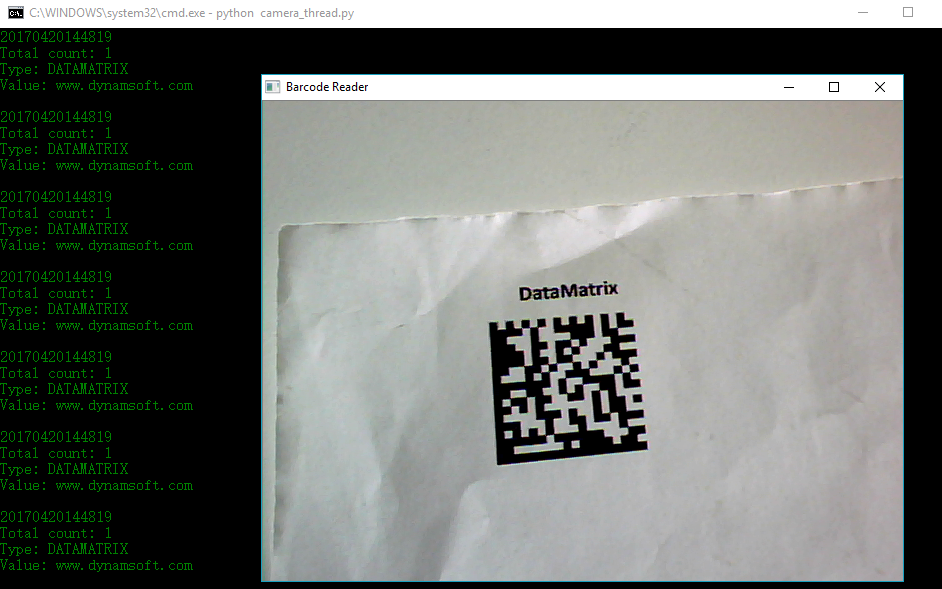 Building Python Barcode Extension with DBR 5 0 on Windows