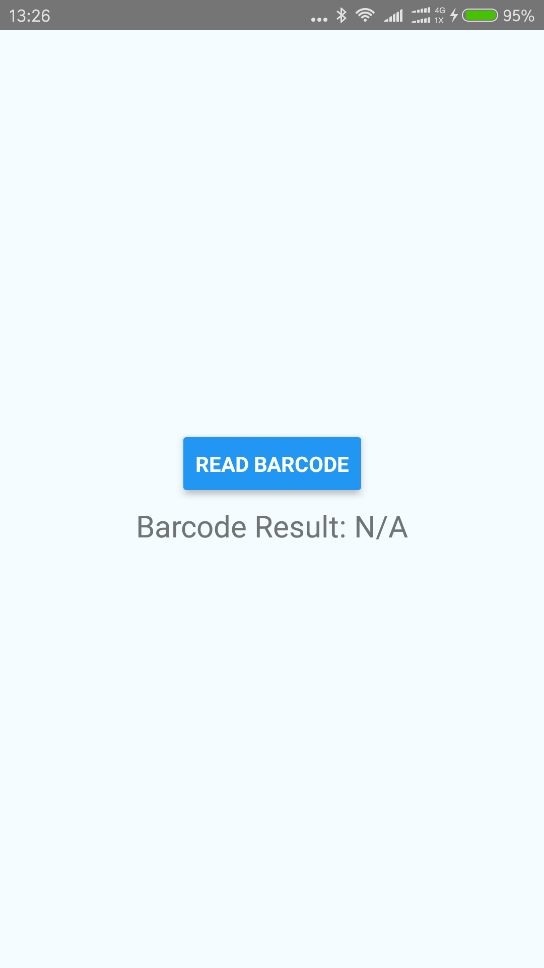 react native barcode app