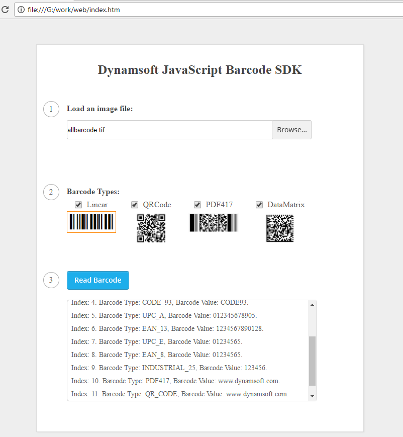 Dynamsoft Barcode Reader - Visual Studio Marketplace