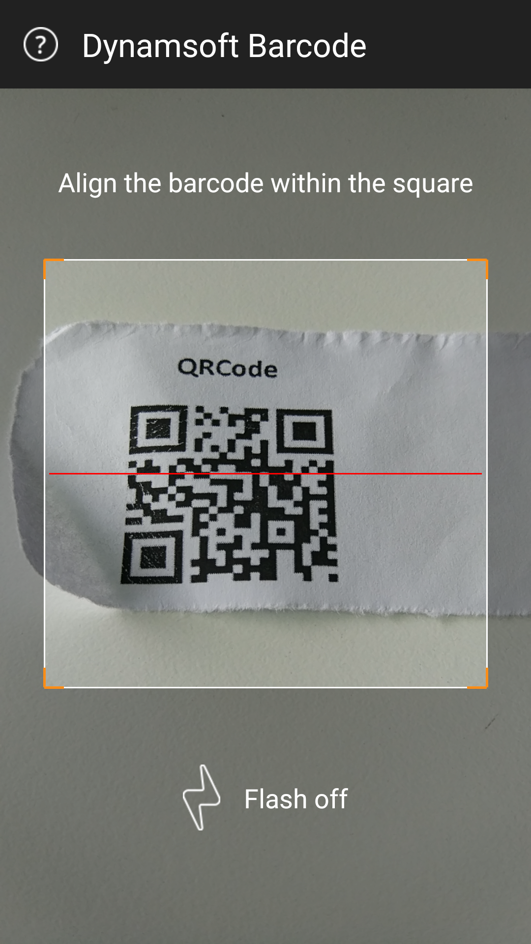 Kotlin Android barcode scan