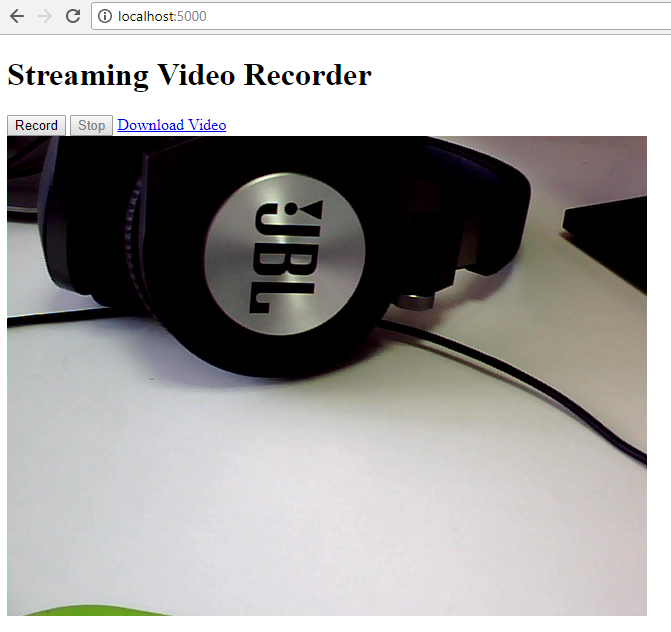 How to Build Web Camera Recorder Using OpenCV and Flask