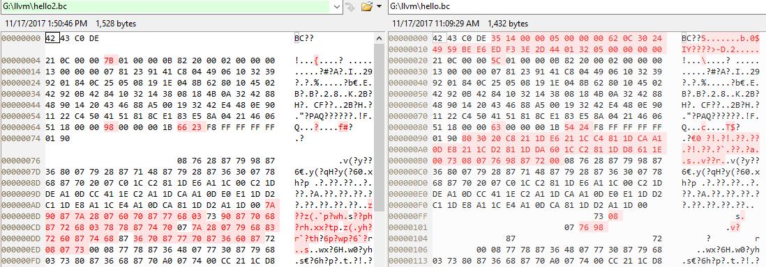 compare bc file