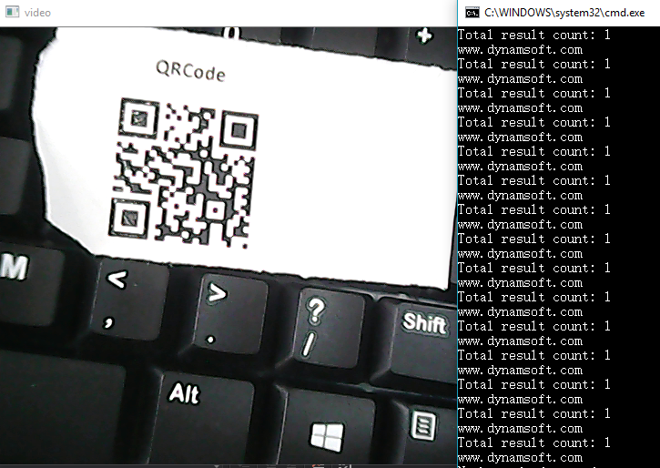 .NET barcode reader with OpenCV