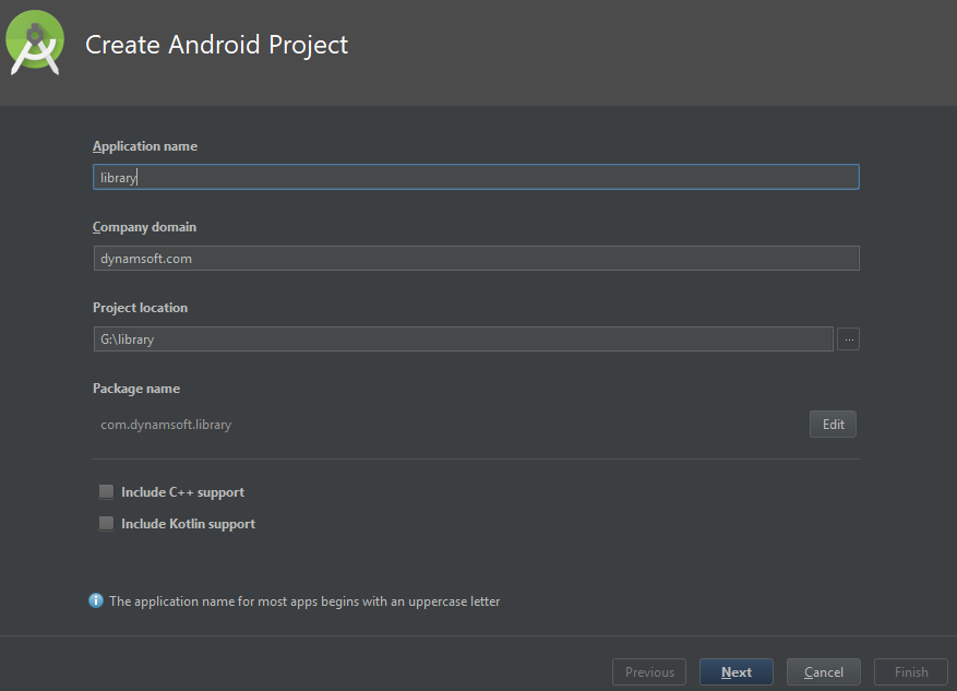 Android AAR project