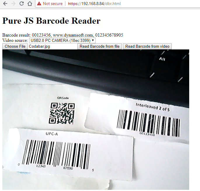 webassembly barcode detection
