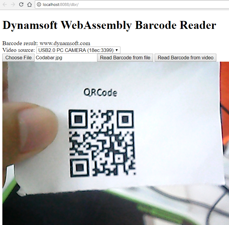 JavaScript Barcode SDK: Native vs  WebAssembly